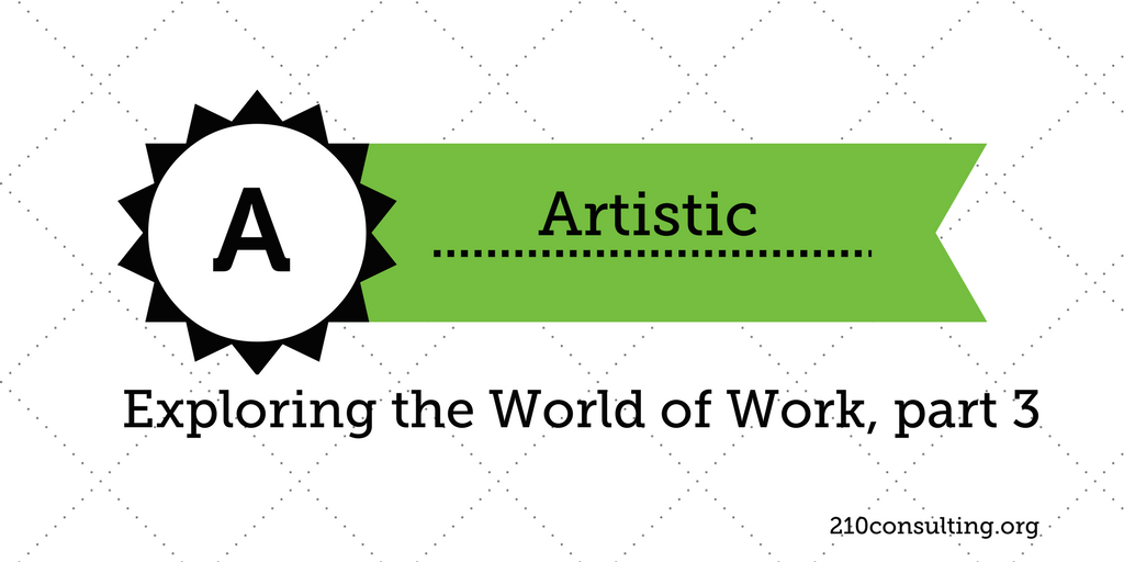 Exploring the Artistic Area in the World of Work
