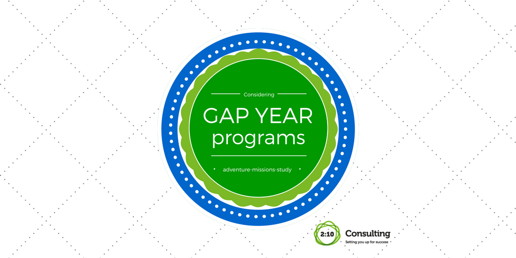 Have You Considered a Gap Year?