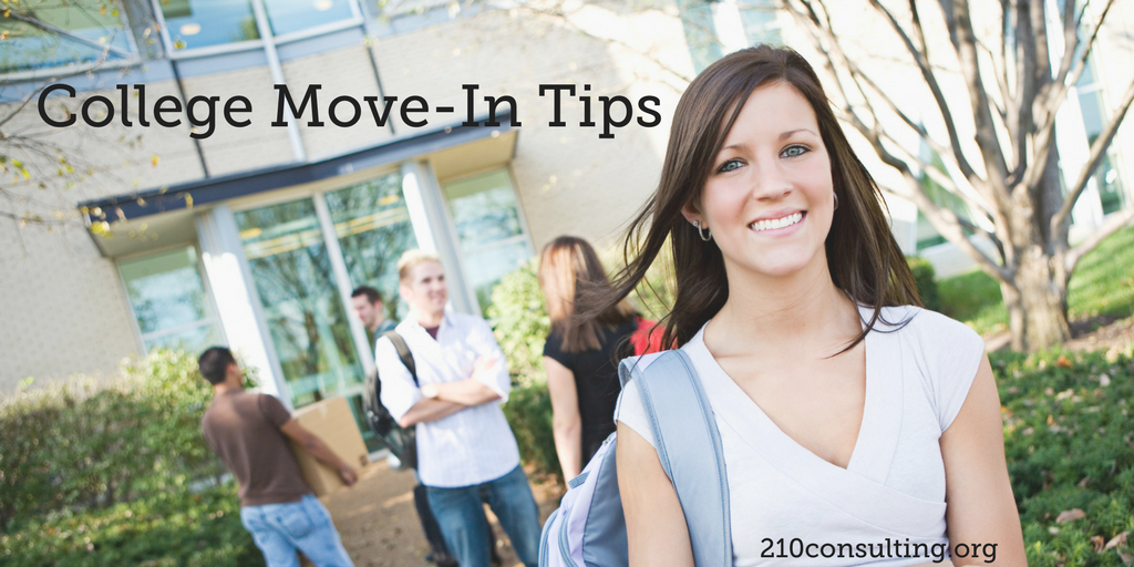 College Move-in Tips