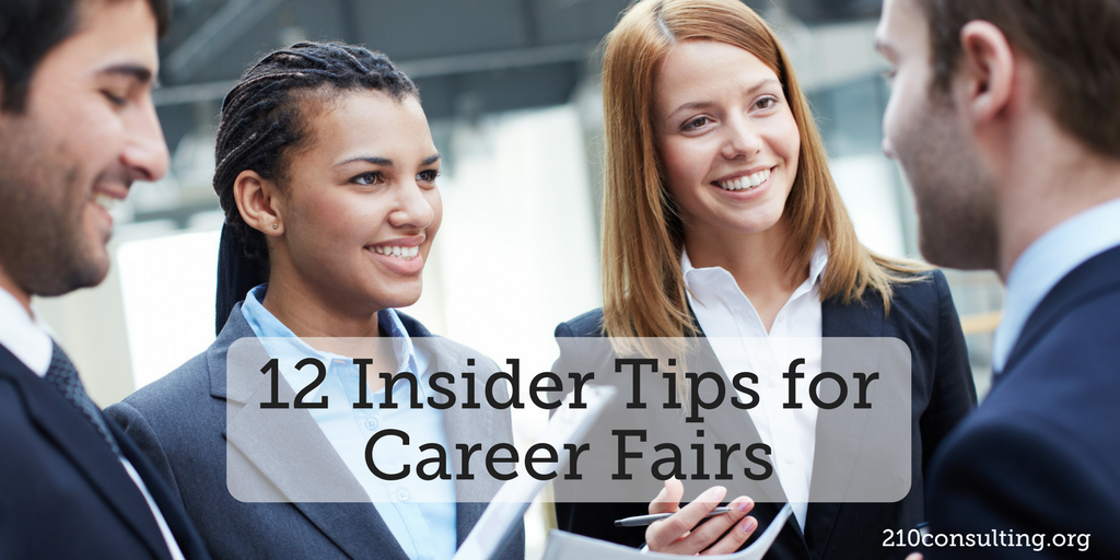 Career Fair Tips for Success www.210consulting.org